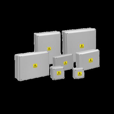 Cajas de paso gris