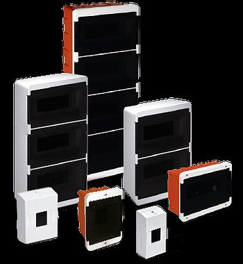 Cajas Plásticas para módulos DIN
