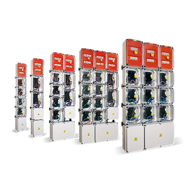 Gabinetes modulares Monofásicos y Trifásicos IP54